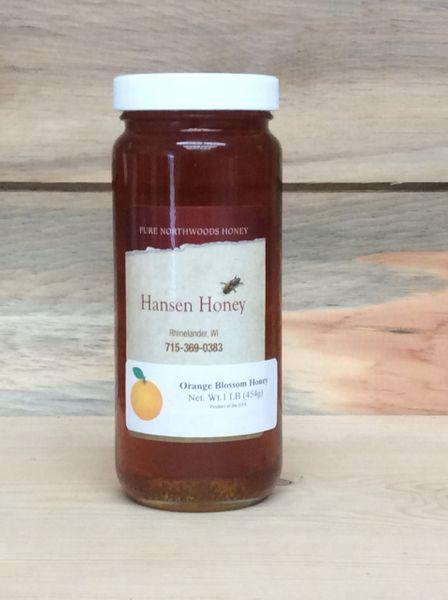 Orange Blossom Honey – 1 Lb.