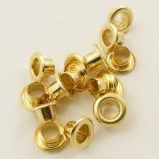 Brass Eyelets 1000 ct.