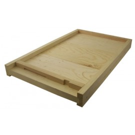 Assembled 8-Frame Solid Bottom Board