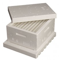 Complete Assembled BEEMAX Hive with Wax Coated Foundation