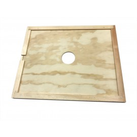Plywood Inner Cover w/ Feeder hole 8-Frame