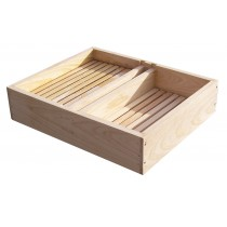 Assembled Wooden Hive Top Feeder 8-Frame
