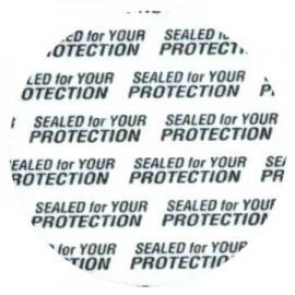 Tamper Resistant Seals for 38mm C/250
