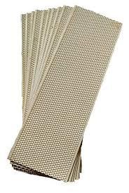 Acorn Triple-Waxed Plastic Foundation White