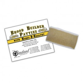 Brood Builder w/Honey B Healthy (Single Patty)